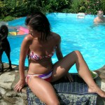 Back yard pool party (4)
